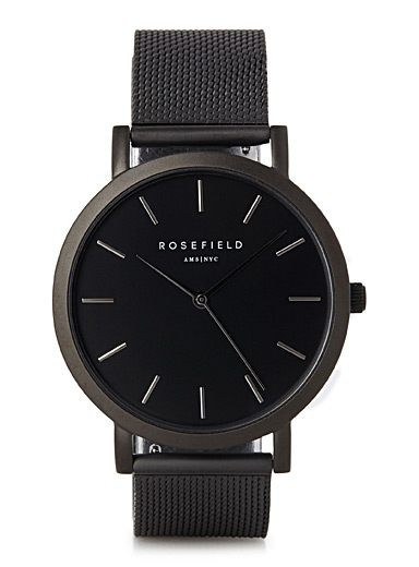 Black Mercer watch