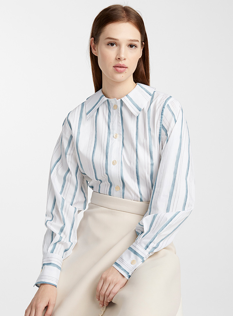 Loose striped blouse - Urbanovitch - Assorted