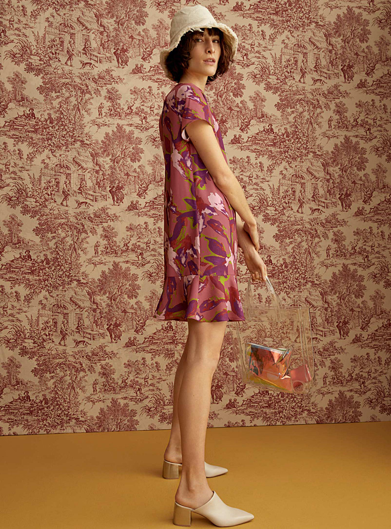 fluttering-ruffle-dress