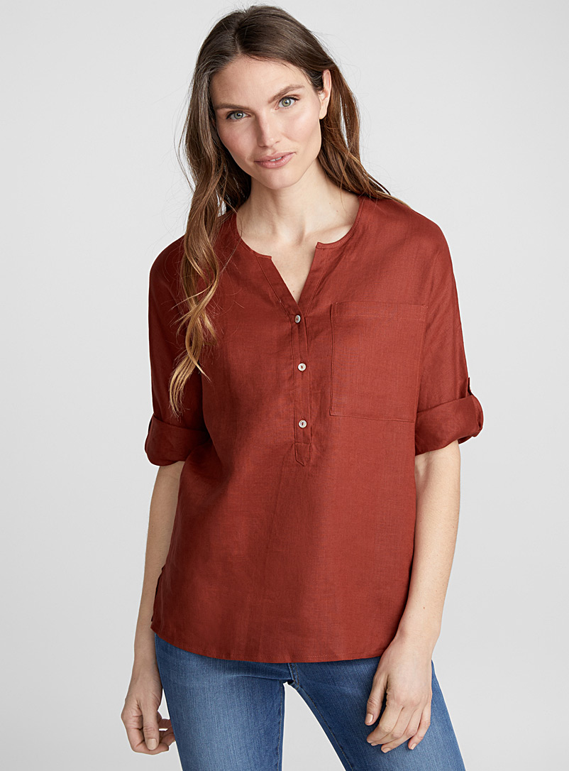 silky-linen-rolled-sleeve-blouse