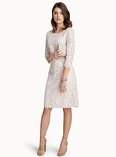 Arabesque lace dress