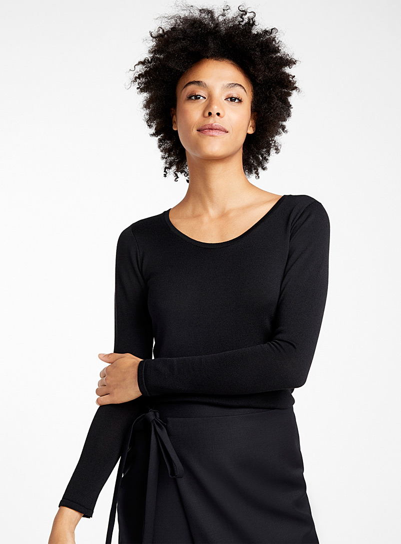 MS6 knit sweater - Elisa C-Rossow - Black