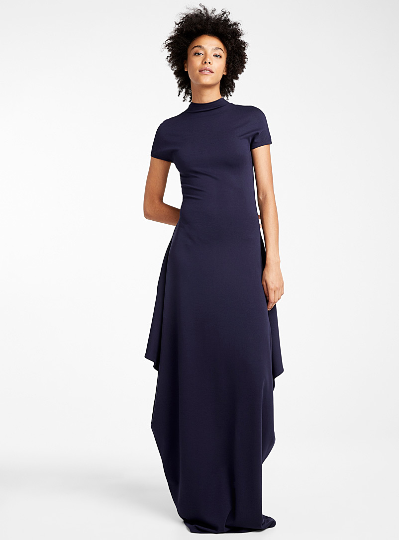 Carre X3 dress - Elisa C-Rossow - Blue