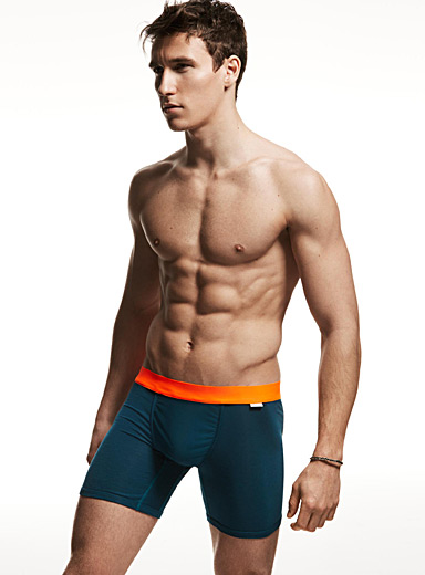 Contrast waistband boxer brief