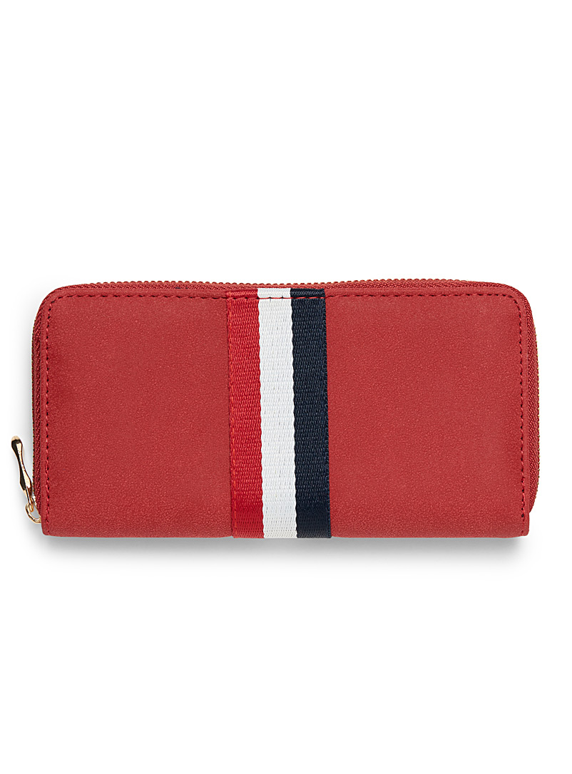 Athletic-band wallet - Wallets - Red