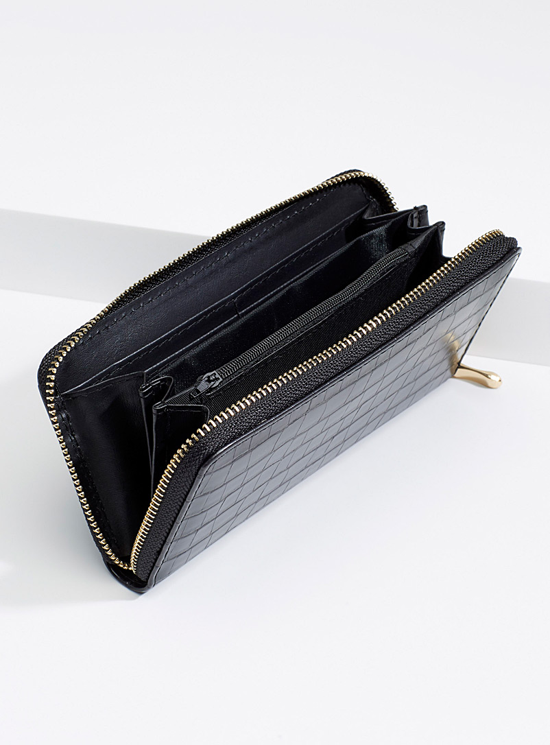 Croc wallet - Wallets - Black