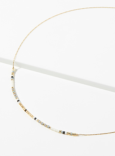 Simons Assorted Colourful bead chain for women