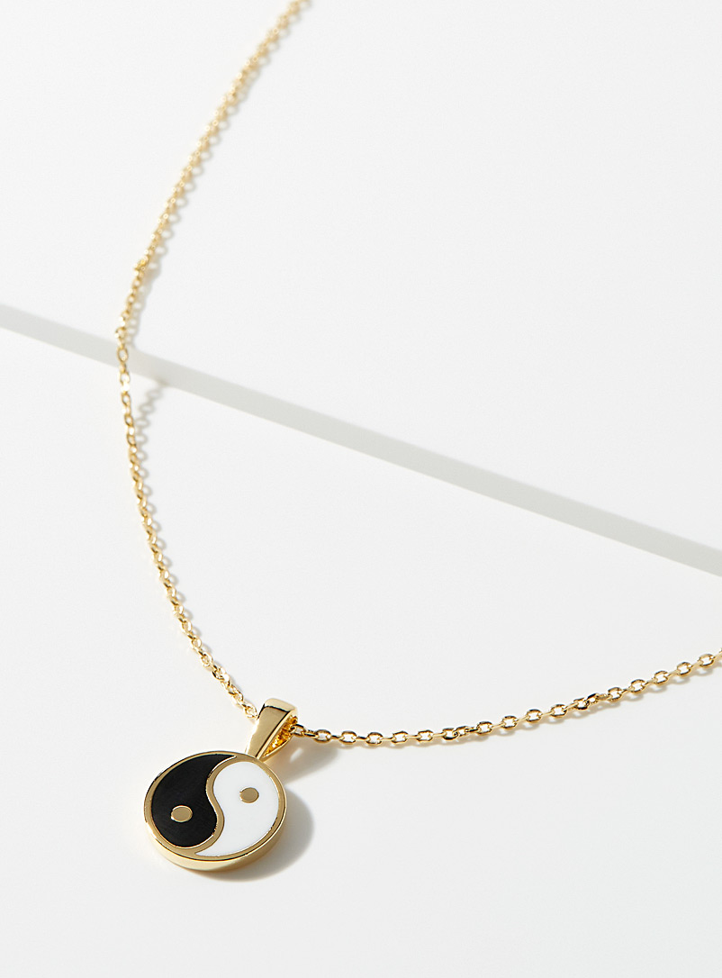 Simons Assorted Yin-yang pendant necklace for women