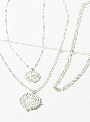 Le collier multirang gravures nomades