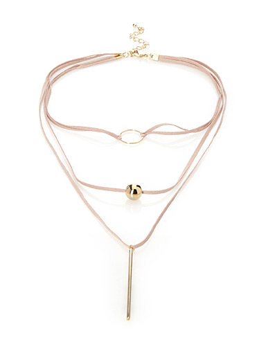 Three charm choker