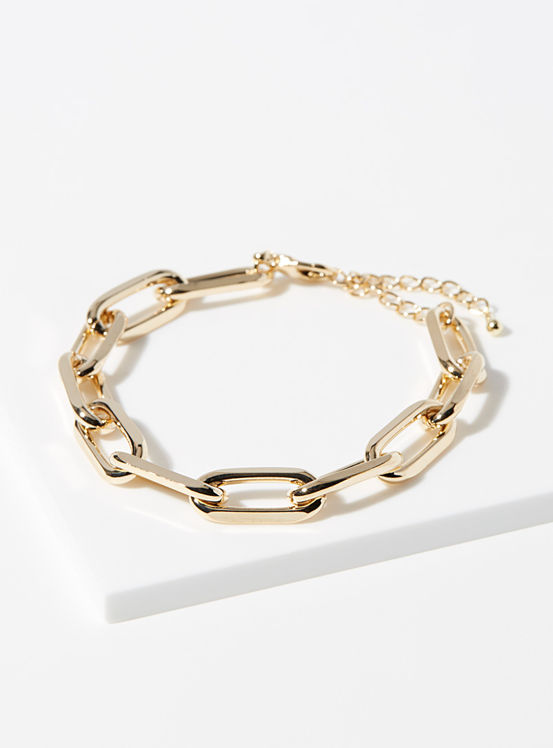 Simons Assorted Oval-link bracelet for women
