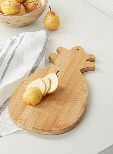 Pineapple bamboo serving board