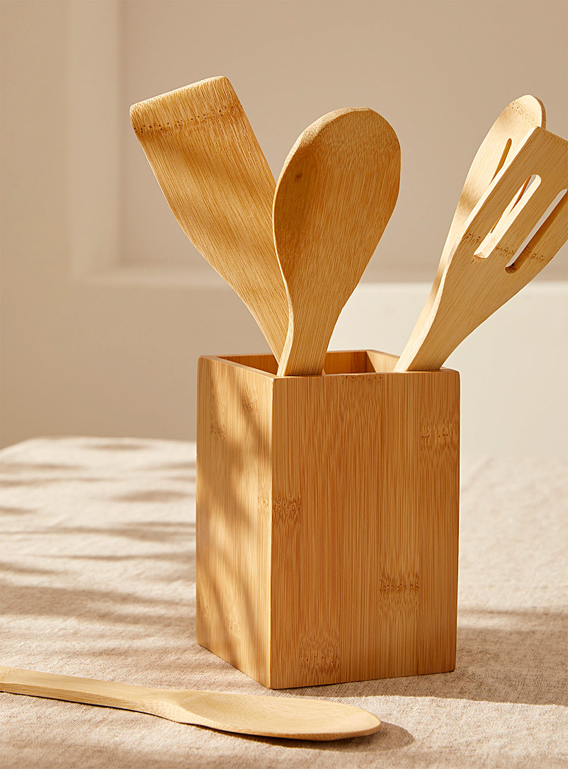 Bamboo kitchen utensils  Set of 5
