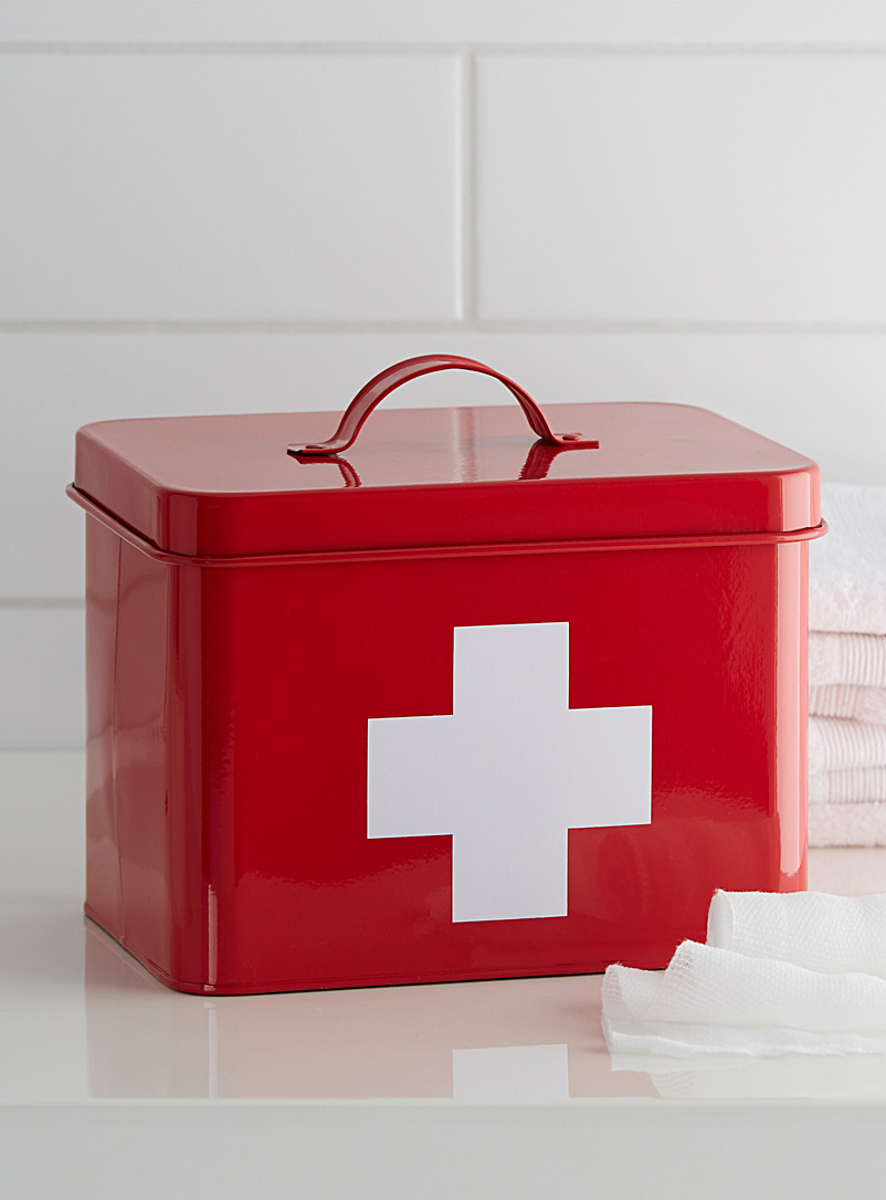 Pharmacy box - Baskets & Storage - Red
