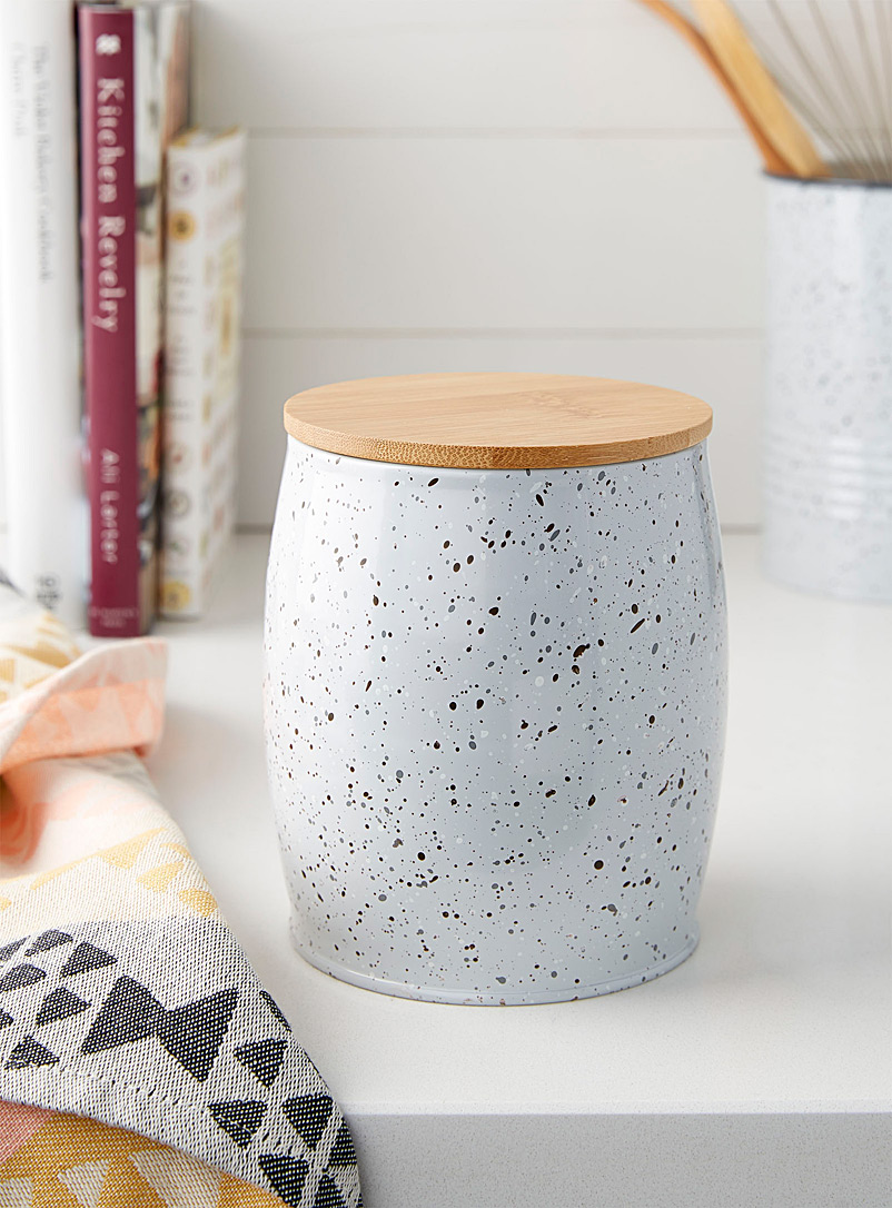 Speckled paint box - Cooking Utensils & Containers - Light Grey