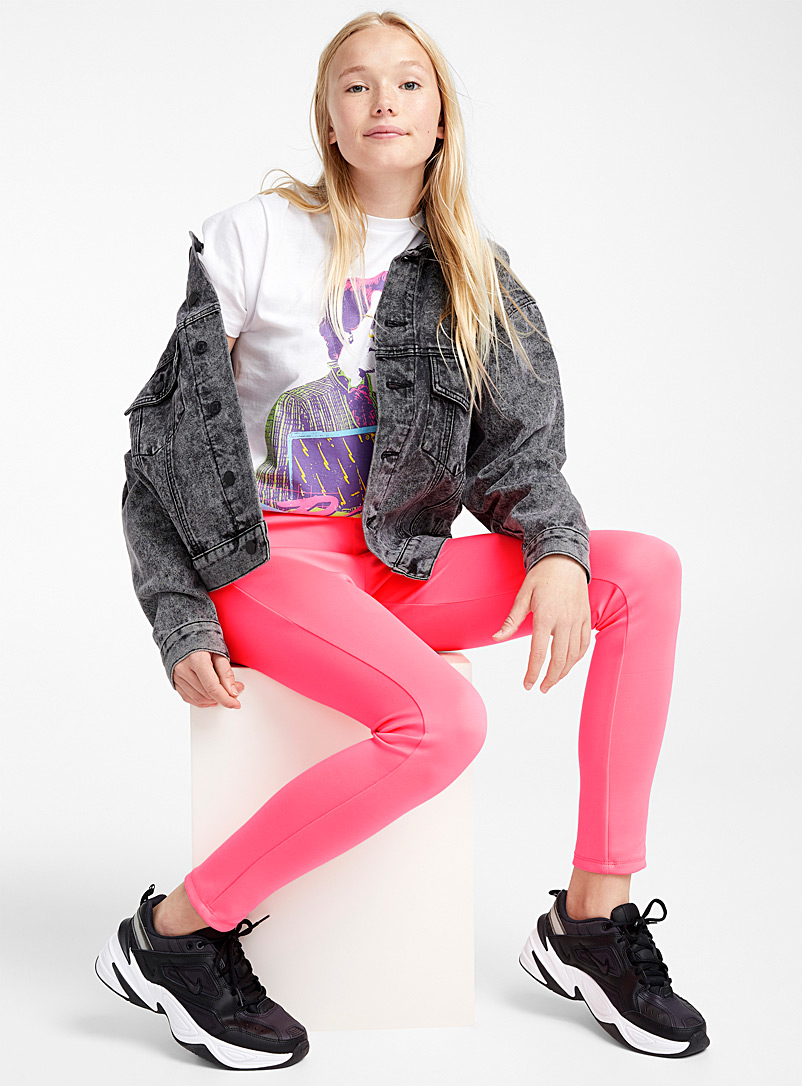 Fluorescent legging - Leggings - Pink
