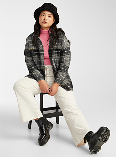 Recycled polyester overshirt