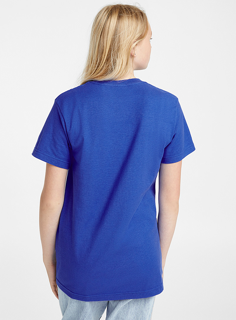Friends t-shirt - Short Sleeves & ¾ Sleeves - Sapphire Blue