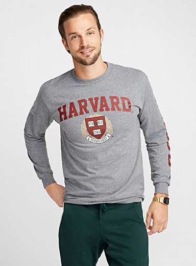 Long-sleeve varsity T-shirt