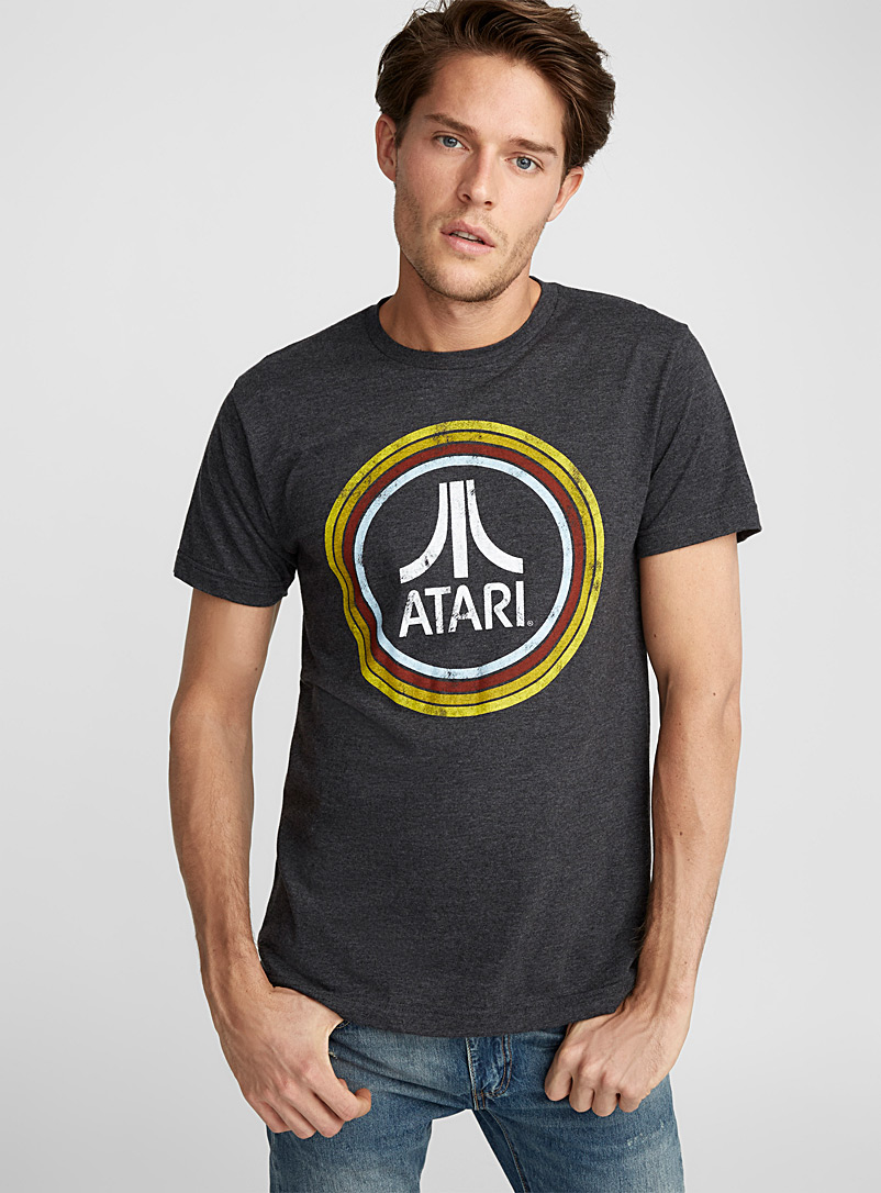 Vintage Atari T-shirt - Prints - Grey