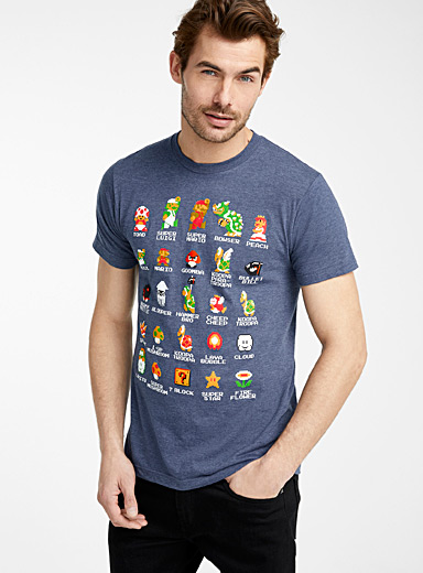 Mario and crew T-shirt