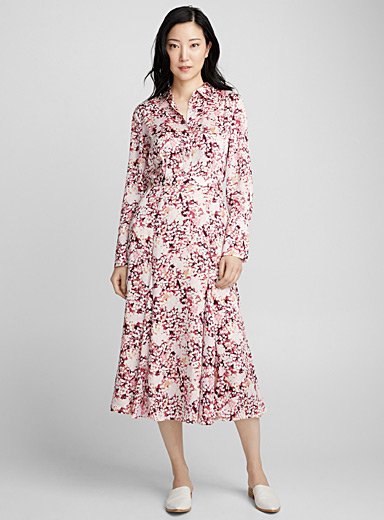 Bancort pink blossom dress
