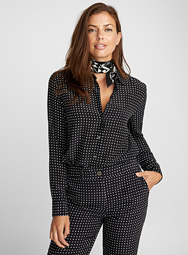 Essential dotted blouse