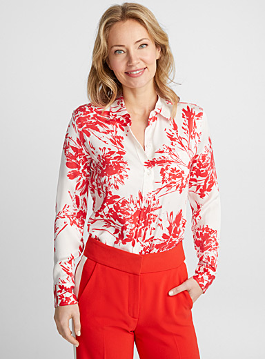 Brette floral bloom blouse