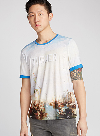 Le tee-shirt toile Turner