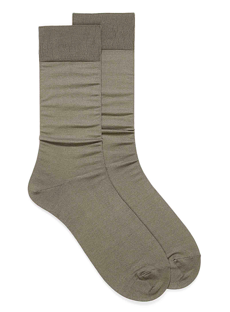 Essential coloured socks - Dressy socks - Light Brown