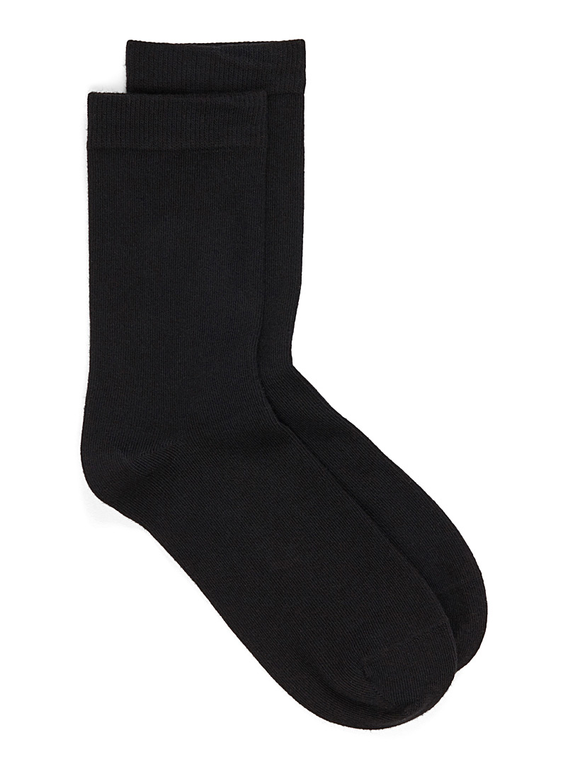 Solid basic socks - Socks - Black