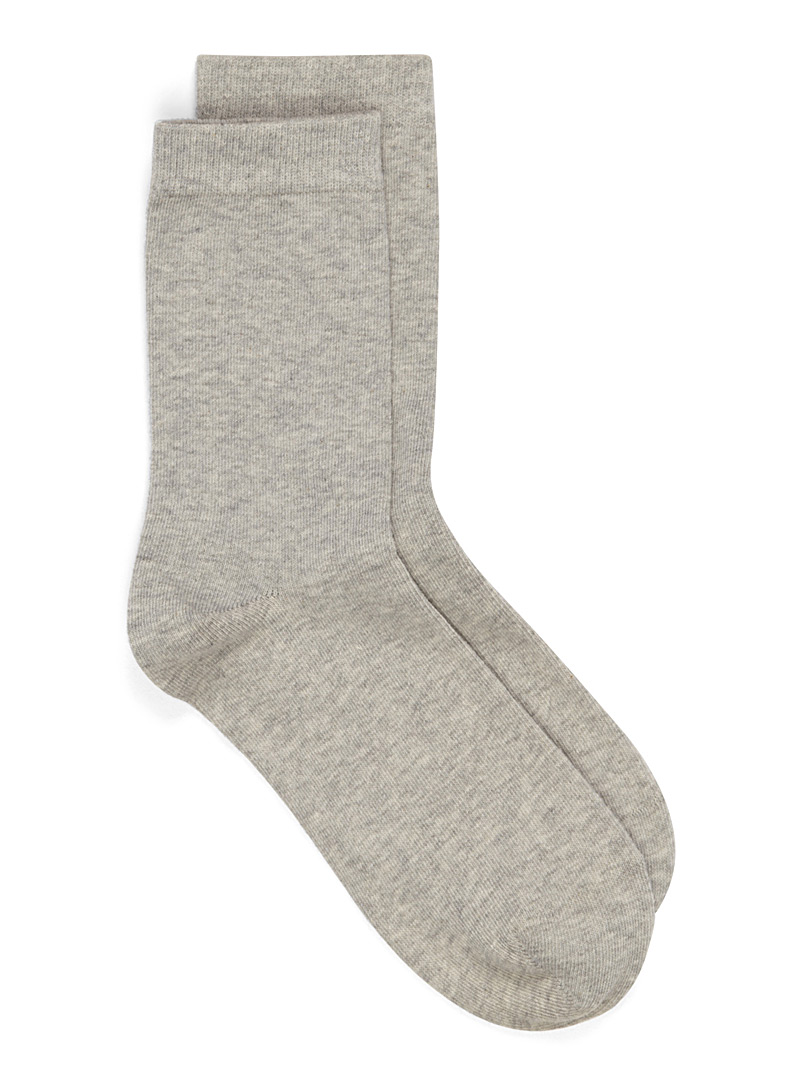 Solid basic socks