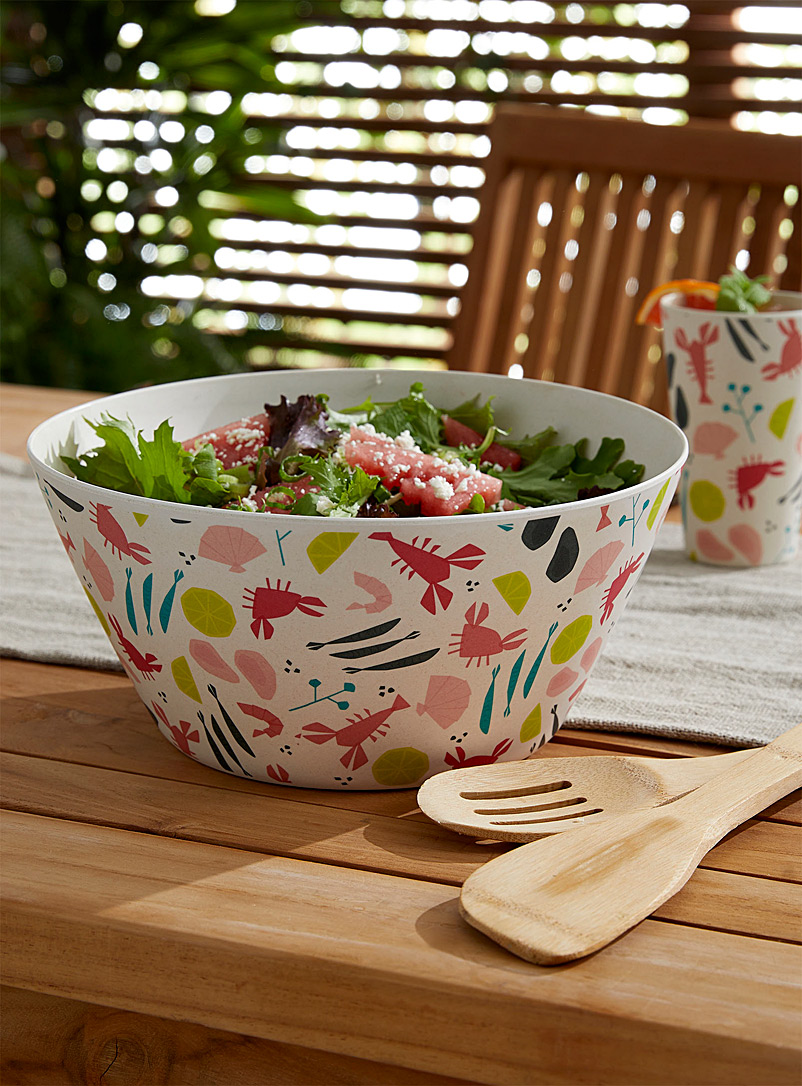 Simons Maison Assorted Beach vibes salad bowl