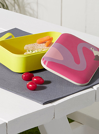 Pink flamingo bento box