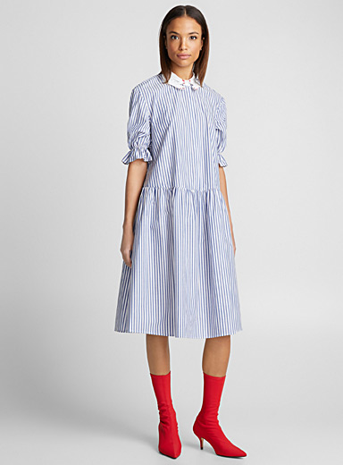 Monselice striped dress