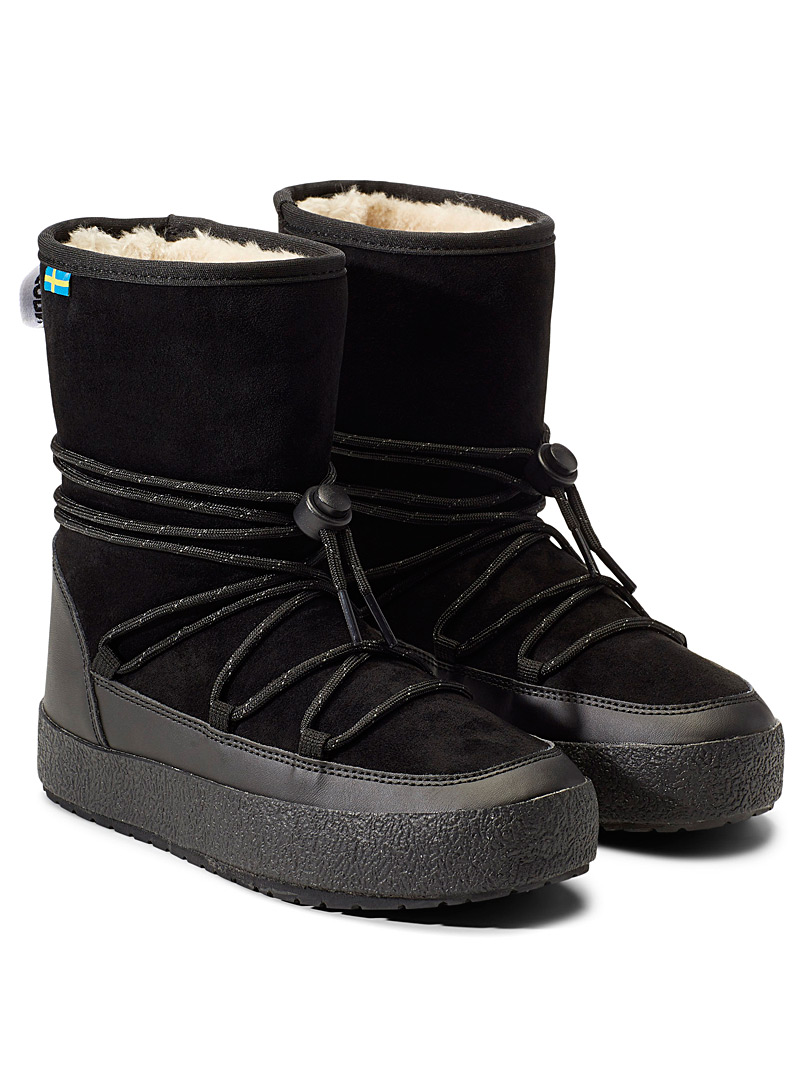 Tretorn Black Apollo lined winter boots  Women for women