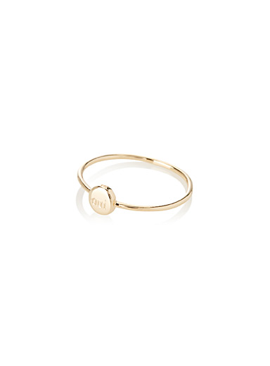 Oui disc ring