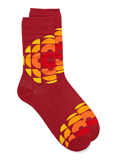 CBC retro socks