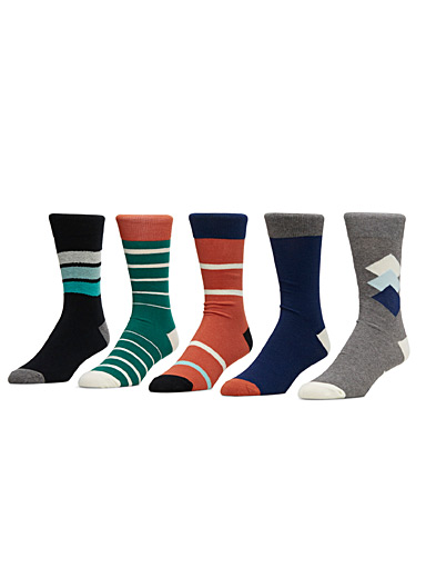 Work Week sock pack  5-pack
