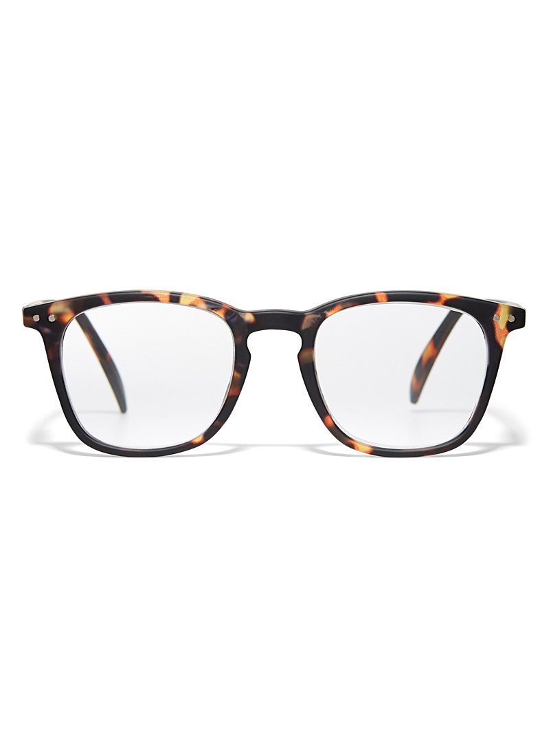 Letmesee E reading glasses - Reading Glasses - Light Brown