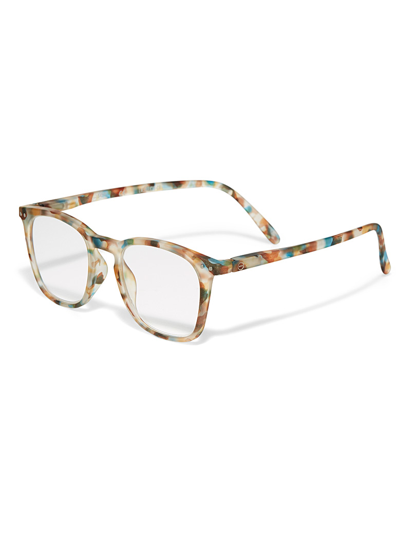 Letmesee E reading glasses - Reading Glasses - Patterned Blue