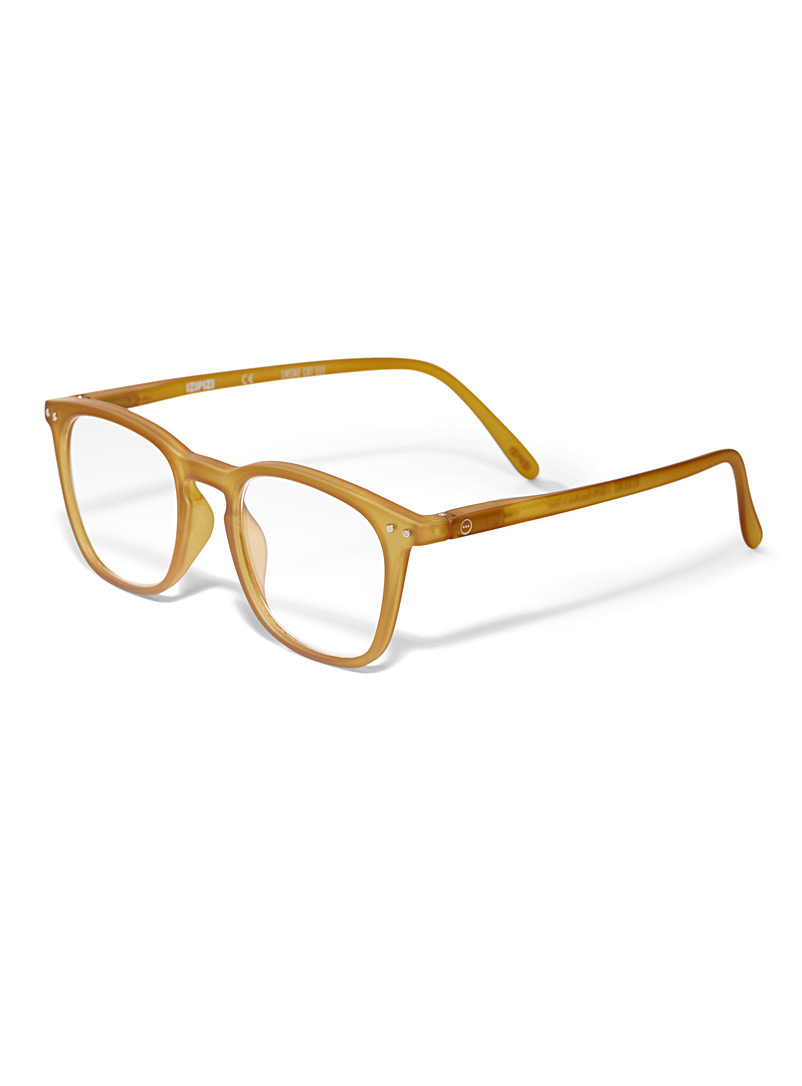 Letmesee E reading glasses - Reading Glasses - Golden Yellow