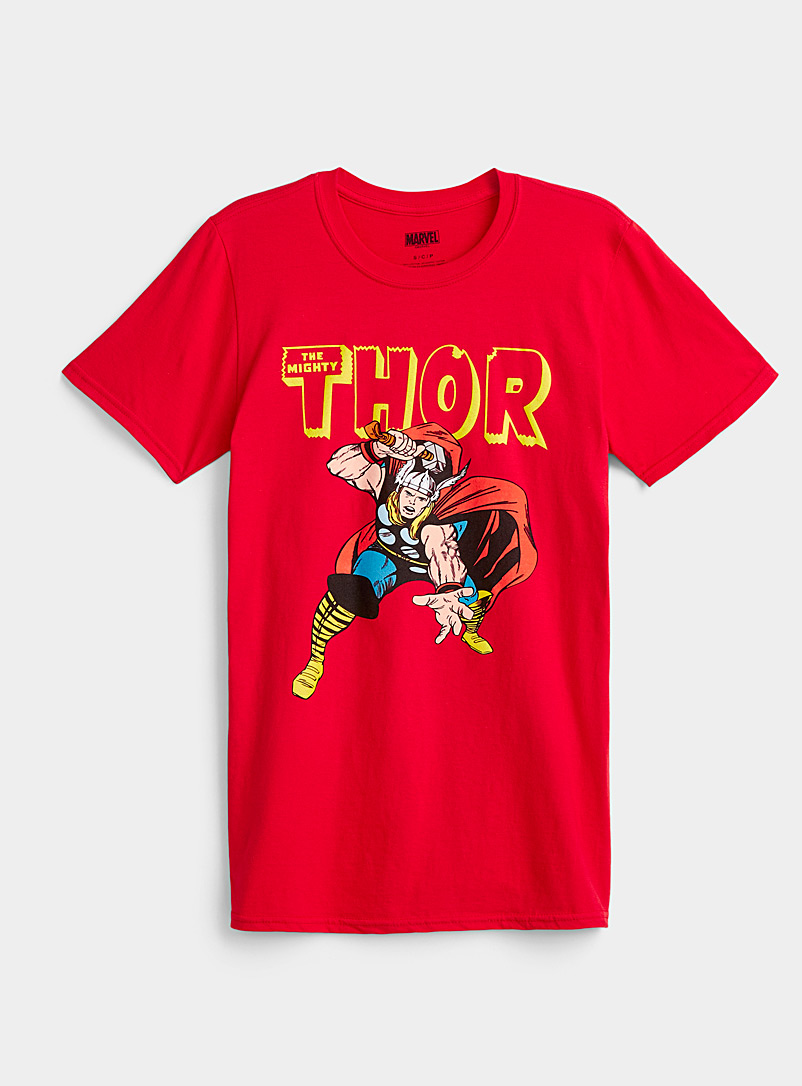 Twik Red Thor T-shirt for women