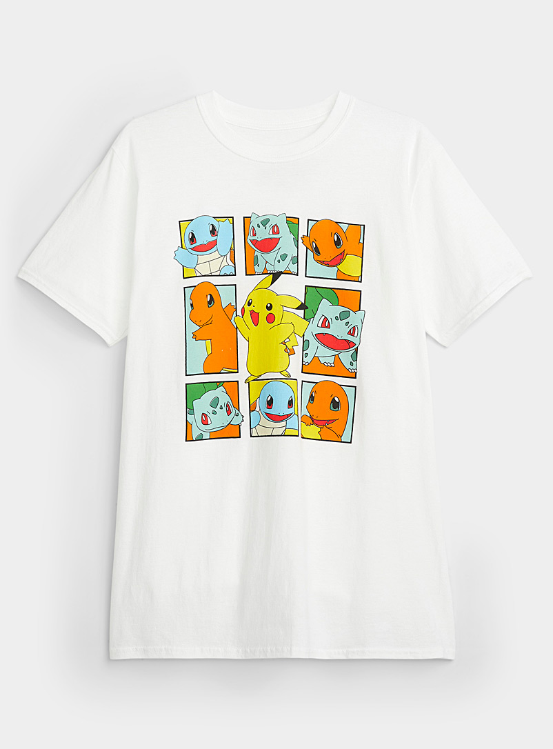 Twik White Pokémon T-shirt for women