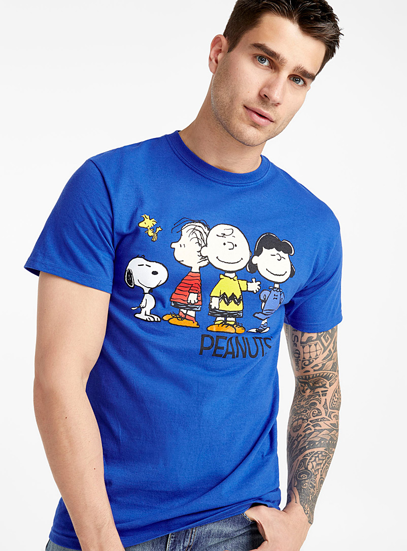 Le t-shirt Charlie Brown - Imprimés - Bleu royal-saphir