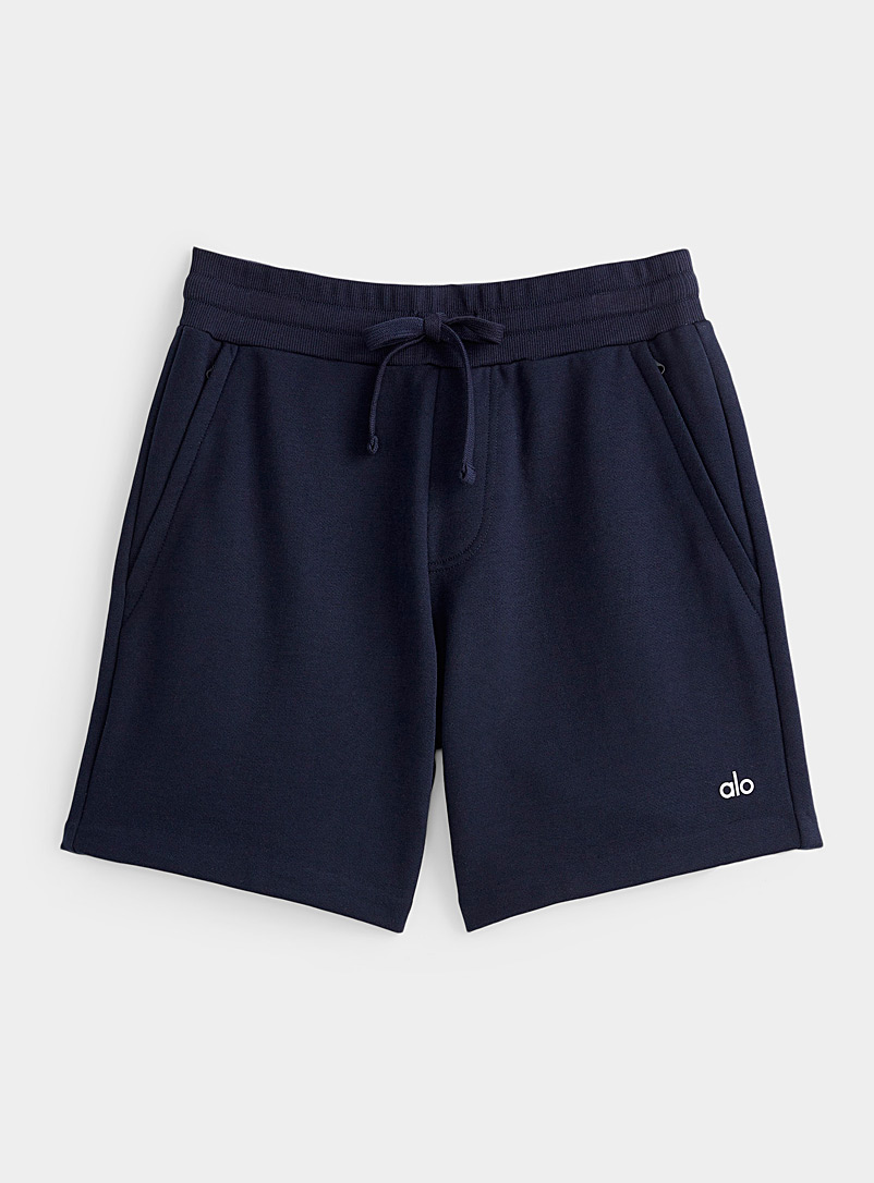 Alo yoga Marine Blue Chill terry-backed short for error
