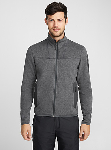 Le cardigan zip Covert