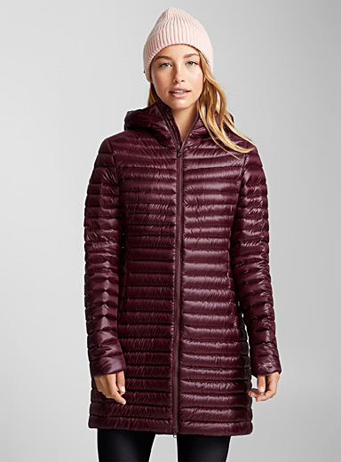 Nuri long quilted jacket