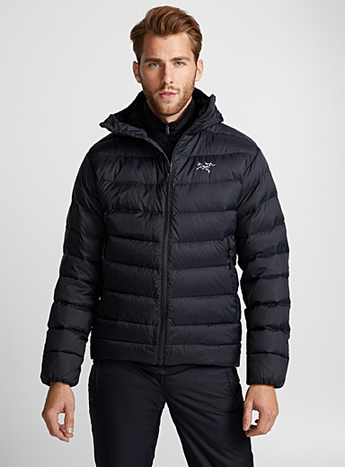 Thorium AR hooded quilted jacket  Regular fit