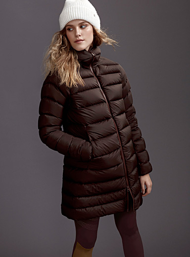 Seyla quilted coat <br>Long fit